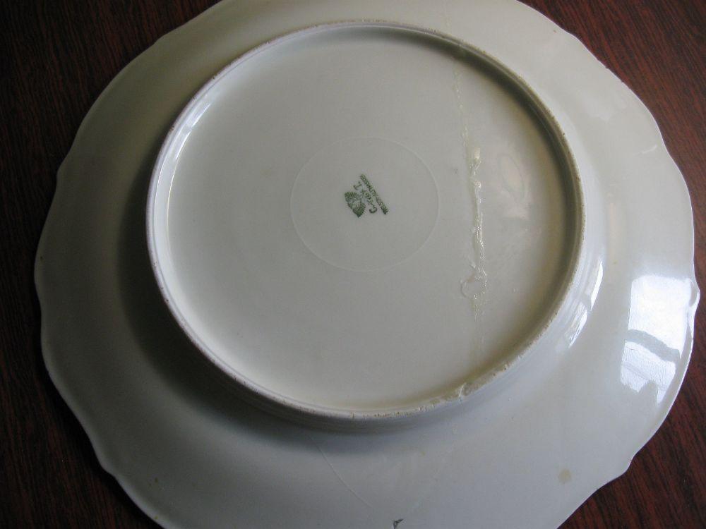 старинная тарелка, Германия