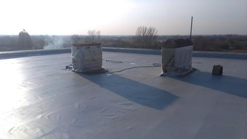 Мембранная кровля, ремонт мембранной крыши  в Полтаве