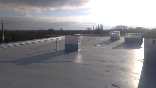 Укладка ПВХ мембраны.Монтаж и ремонт мембранных крыш в Хмельницком