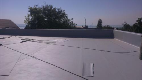 Ремонт мембранной крыши в Харькове