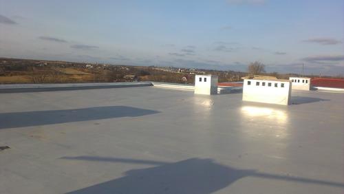 Монтаж и ремонт мембранных крыш в Никополе