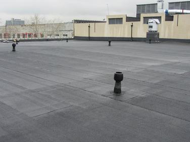 Ремонт крыши, укладка еврорубероида  в Каменском