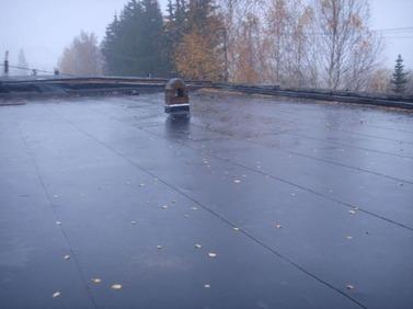 Ремонт  крыши, еврорубероид в Одессе